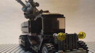 Лего Зис-42 с зениткой 61-К / Лего военные самоделки #2