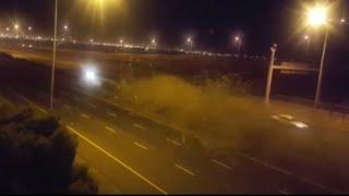 Braking News ..BMW Car Accident 350 Ki Speed Pr....