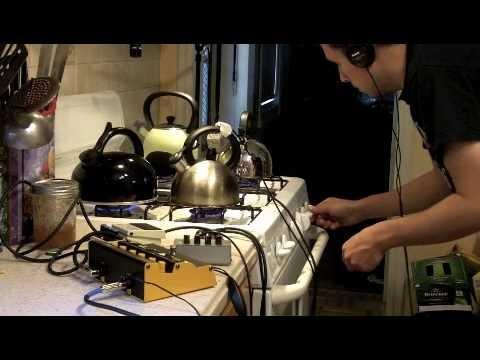 Music for 4 tea kettles, prepared guitar, contra alto clarinet