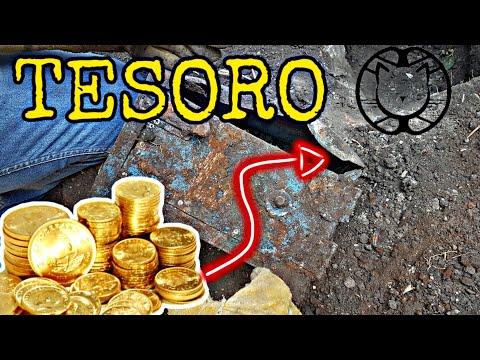 Buscando Tesoros Caja Fuerte con Monedas de Plata!!!
