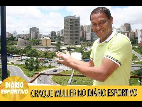 Craque Muller participa do Diário Esportivo
