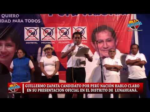 GUILLERMO ZAPATA HABLA CLARO Y DIRECTO EN SU PRESENTACION COMO CANDIDATO