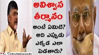 అవిశ్వాస తీర్మానం అంటే ఏమిటి ?What is No Confidence Motion in Telugu | KC Entertainments