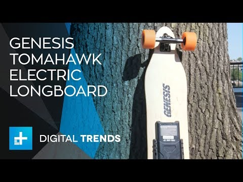 Genesis Tomahawk Electric Longboard – Hands On Review