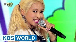 SISTAR (씨스타) - Don't Be Such A Baby (애처럼 굴지마) / SHAKE IT [Music Bank COMEBACK / 2015.06.26]