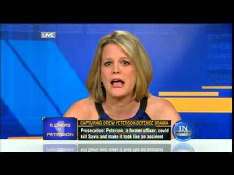 Meg Strickler on Tru TV on August 6, 2012 discussing #drewpeterson with Ryan Smith #in