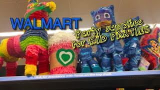 Walmart Party Supplies • Party Favors • Candles & MORE