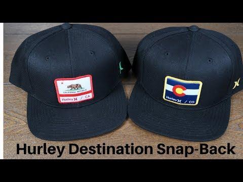 Best Hurley baseball hats – Destination snap back hat review