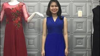 Gọi 0931405002-01245114999 để mua đầm trung niên jum trung niên áo trung niên siêu đẹp 50-70kg