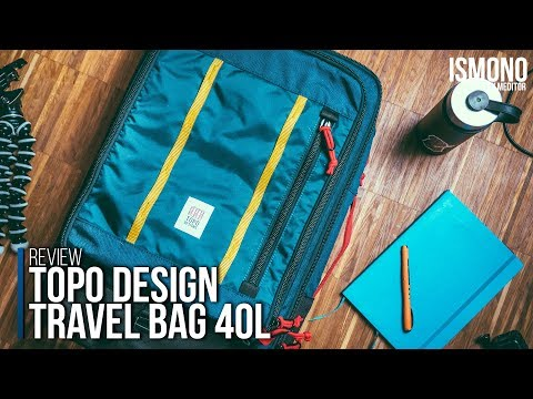 One Week, One Bag. Topo Design Travel Bag Carryon Backpack REVIEW