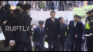 South Korea: Samsung exec questioned over corruption scandal