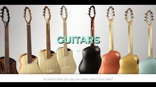 Making A Custom Guitar From Scratch Hemp CBD Fiber #Water #Homemade