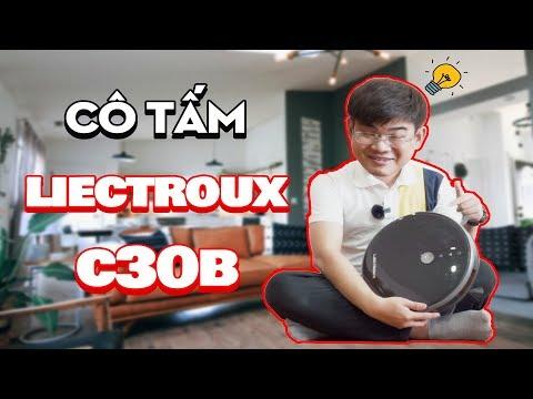 Robot Liectroux C30B| Cô tấm thời hiện đại