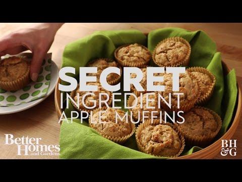 Secret Ingredient Apple Muffins
