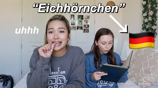 learning GERMAN from a 12 year old during QUARANTINE *I FAILED*