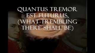 MOZART REQUIEM, SEQUENTIA (Latin - English Translation lyrics)