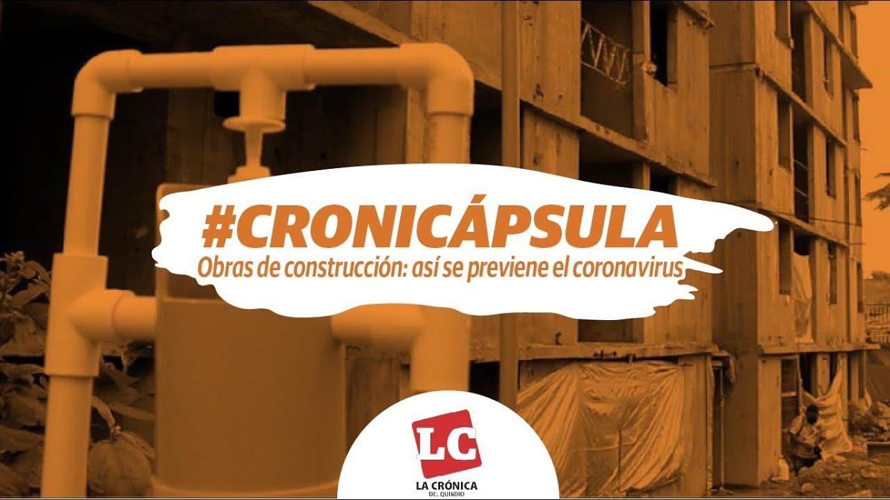 Obras de construcción: así se previene el coronavirus