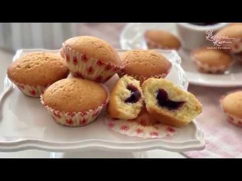 動手做藍莓口味杯子蛋糕