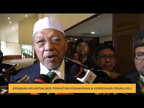 Kerajaan Kelantan beri perhatian pemakanan & kebersihan Orang Asli