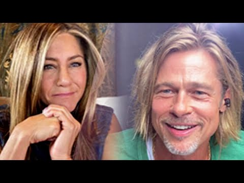 First Look at Jennifer Aniston and Brad Pitt Reuniting for Fast Times at Ridgemont High Table Read
