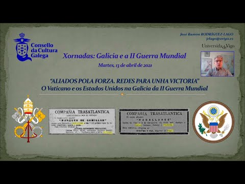 A Igrexa católica e as redes norteamericanas en Galicia