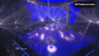 HD Donny Montell - Love Is Blind - Final -  Eurovision Song Contest 2012
