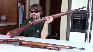 WWII Swedish Rifles: M38 Mauser & AG42 Ljungman Automatic