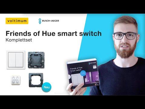 Einbau und Installation – Friends of Hue smart switch Schalter | Busch Jaeger