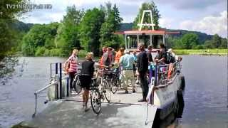 preview picture of video 'Witten an der Ruhr Burgruine und Fähre Hardenstein Familien Radsport 29.7.2012 FullHD TV21NRW'