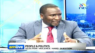 Aaron Cheruiyot on Kibra poll chaos