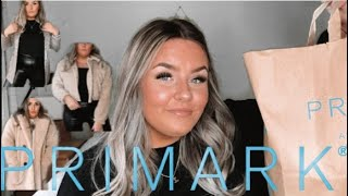 MINI PRIMARK HAUL & AUTUMNAL LOOKBOOK 2019!