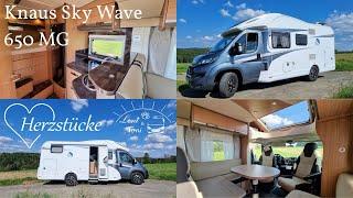 Leni & Toni HERZSTÜCKE | Knaus Sky Wave 650 MG | Baujahr 2016 |