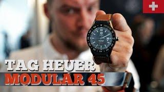 Часы на Android за 100 000 | TAG Heuer Modular 45