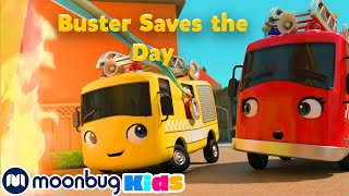 Buster the Hero Fire Truck Saves the Day | Go Buster! | Full Magic Stories and Fairy Tales for Kids