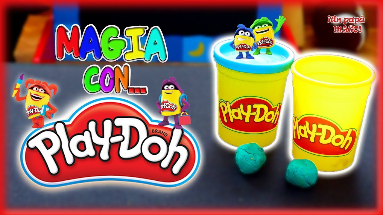 MAGIA CON PLAY-DOH | MAGIA CON JUGUETES | SKETCH | Is Family Friendly