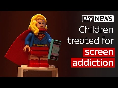 Children treated for screen addiction