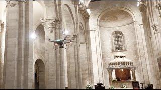 Dji Phantom 4: un Drone in Cattedrale, Puglia 2016
