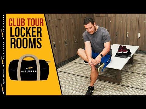 Locker Room   LA Fitness Club Tour