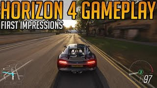 Forza Horizon 4 Gameplay Impressions | First 26 minutes - Full Game
