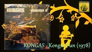 KONGAS   Kongas Fun (1978) Salsoul Latin Funk Disco *Cerrone, Tom Moulton