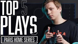 Havok Clutching in the Smoke! | Top 5 Plays Presented by PS4 | Paris Legion Home Series