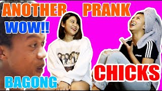 Prank mariano. ( skinship reaction ) FIRST SHOOTING| NEW MEMBER | SY Talent Entertainment