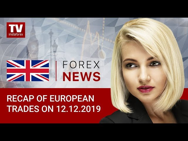 12.12 .2019: EUR and GBP trading mixed ahead of ECB decision and UK election results.