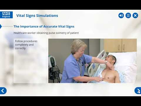 Healthcare Vital Signs Simulations