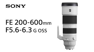 YouTube Video rMlMOBuBGhM for Product Sony FE 200-600mm F5.6-6.3 G OSS Lens (SEL200600G) by Company Sony Electronics in Industry Lenses