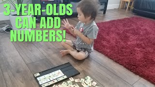 3-year-old Doing Math | Learning Math | Watch Eli add numbers up to ten!
