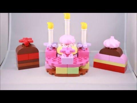 Vidéo LEGO Duplo 6785 : Set de construction de gâteaux LEGO DUPLO