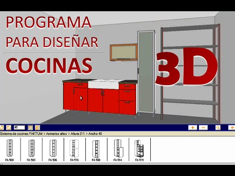 Programa para diseñar cocinas 3D - IKEA Home Planner