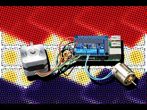 Adafruit DC & Stepper Motor HAT for Raspberry Pi - Mini Kit ... on