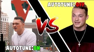 Genius Interview vs Real Song! (Autotune vs No Autotune YOUTUBER EDITION)